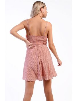 **checked-skater-dress-by-glamorous-petites by topshop