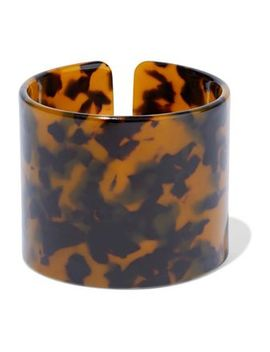 tortoiseshell-resin-cuff by kenneth-jay-lane