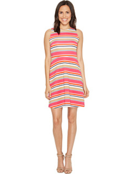 madison-stripe-flutter-dress by michael-michael-kors