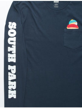 huf-x-south-park-cartman-mens-pocket-tee by huf