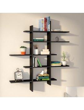 zipcode-design-hoisington-5-shelf-asymmetric-wall-shelf-&-reviews by zipcode-design