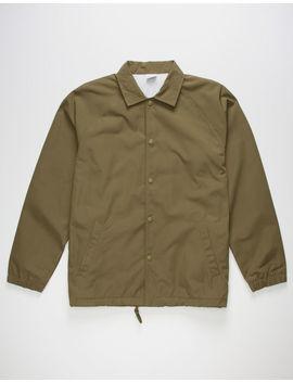 september-olive-mens-coaches-jacket by september-mfg
