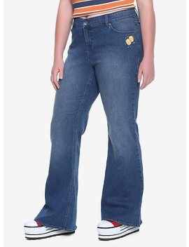 her-universe-star-wars-solo-bell-bottom-jeans-plus-size by hot-topic