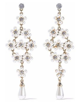 gold-tone,-crystal-and-faux-pearl-earrings by kenneth-jay-lane