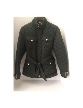 military-green-haddingfield-quilted-large-spring-jacket by burberry