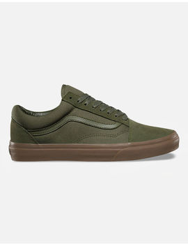 vans-old-skool-olive-shoes by vans