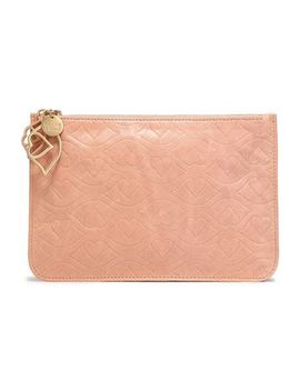embossed-leather-pouch by see-by-chloÉ
