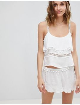 river-island-pom-frill-short by river-island