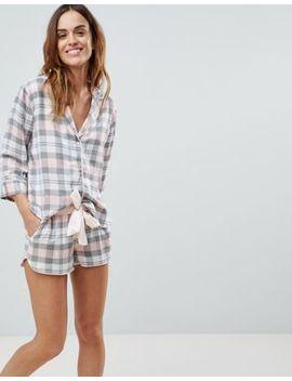 asos-design-mix-&-match-check-pyjama-short by asos-design
