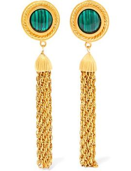 gold-tone-and-stone-clip-earrings by ben-amun