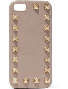 rockstud-leather-iphone-case by valentino