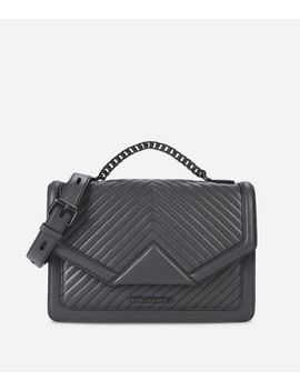 k_klassik-quilted-leather-shoulder-bag by karl-legerfeld