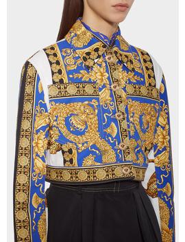 signature-pillow-talk-denim-jacket by versace