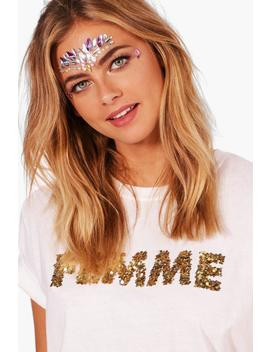 festival-face-gems by boohoo