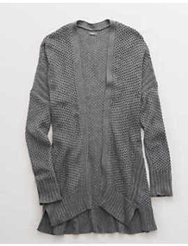 aerie-cozy-texture-cardigan by american-eagle-outfitters