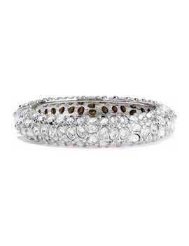 silver-tone-crystal-bangle by kenneth-jay-lane