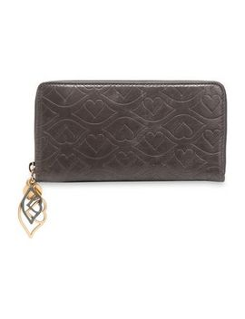 embellished-embossed-leather-wallet by see-by-chloÉ