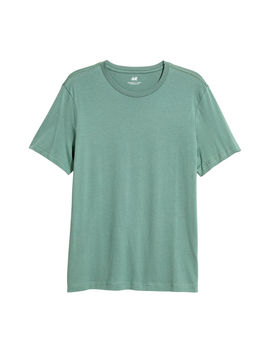 t-shirt-i-bomull-regular-fit by h&m