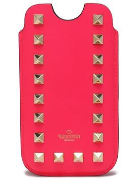 rockstud-leather-iphone-5-case by valentino