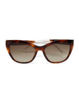 cat-eye-tortoiseshell-acetate-sunglasses by balenciaga