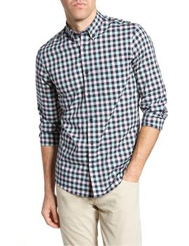 tech-smart-trim-fit-check-sport-shirt by nordstrom-mens-shop