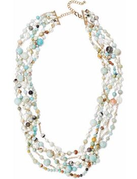 gold-tone-faux-pearl-and-stone-beaded-necklace by kenneth-jay-lane