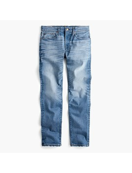 484-slim-fit-distressed-stretch-jean-in-stockton-wash by jcrew