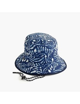 quick-drying-tie-string-bucket-hat by jcrew