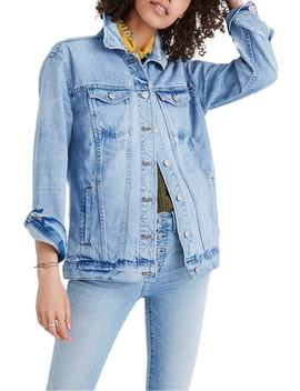 distressed-oversize-jean-jacket by madewell