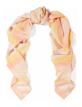 striped-silk-scarf by valentino