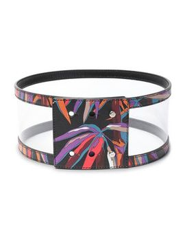 pvc-paneled-printed-leather-belt by emilio-pucci