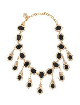 gold-tone,-stone-and-crystal-necklace by kenneth-jay-lane