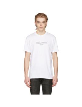 white-gianno-tutti-t-shirt by apc
