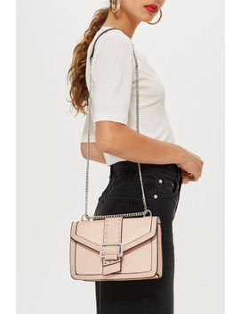 seema-studded-shoulder-bag by topshop