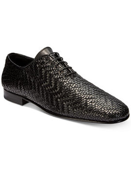 mens-soft-woven-loafers by roberto-cavalli