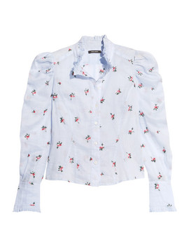utah-embroidered-ramie-shirt by isabel-marant