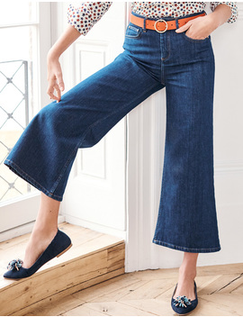 York Cropped Jeans by Boden