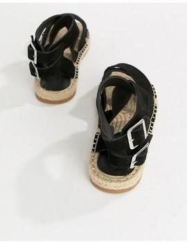 asos-design-jose-suede-espadrille-sandals by asos-design