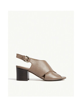 alexis-grained-leather-sandals by whistles