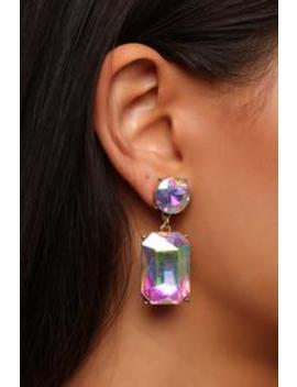 im-so-irresistible-earrings---iridescent by fashion-nova