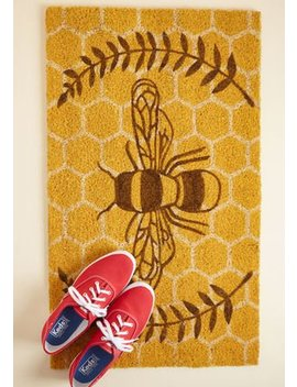 Good To Bee Home Doormat by Modcloth