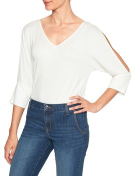 cold-shoulder-top by banana-republic-factory