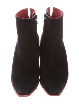 fendi-suede-ankle-boots by fendi