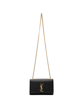 black-small-kate-chain-bag by saint-laurent