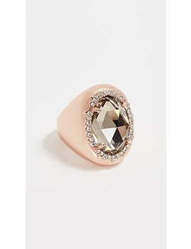 halo-signet-ring by alexis-bittar