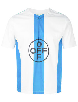 skinny-cycling-t-shirt by off-white