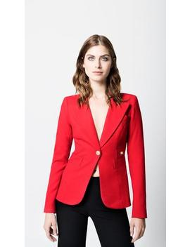 Duchess Blazer Red by Smythe