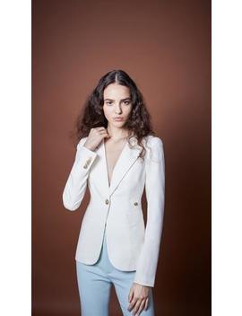 Duchess Blazer White by Smythe