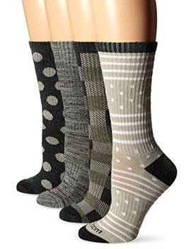 wool-iq-womens-warm-merino-cushion-crew-boot-sock-4-pack by wool-iq