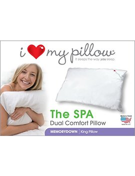 i-love-my-pillow---the-spa,-dual-comfort-pillow,-king-size by i-love-my-pillow